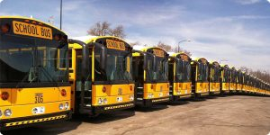 Kansas City Kansas Public School District saves time and money with Thomas Built Buses CNG school buses.
