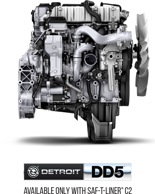 Detroit motors DD5 engine